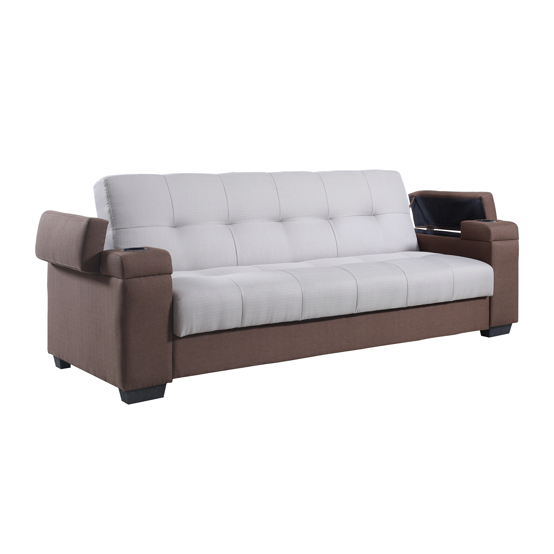 Recliner sofa bed aldo manual reclining sofa mocha for Sofa bed in philippines