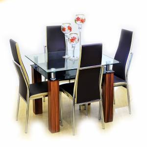 darrel dining set ...  sc 1 st  Urban Concepts : dining table set in philippines - pezcame.com