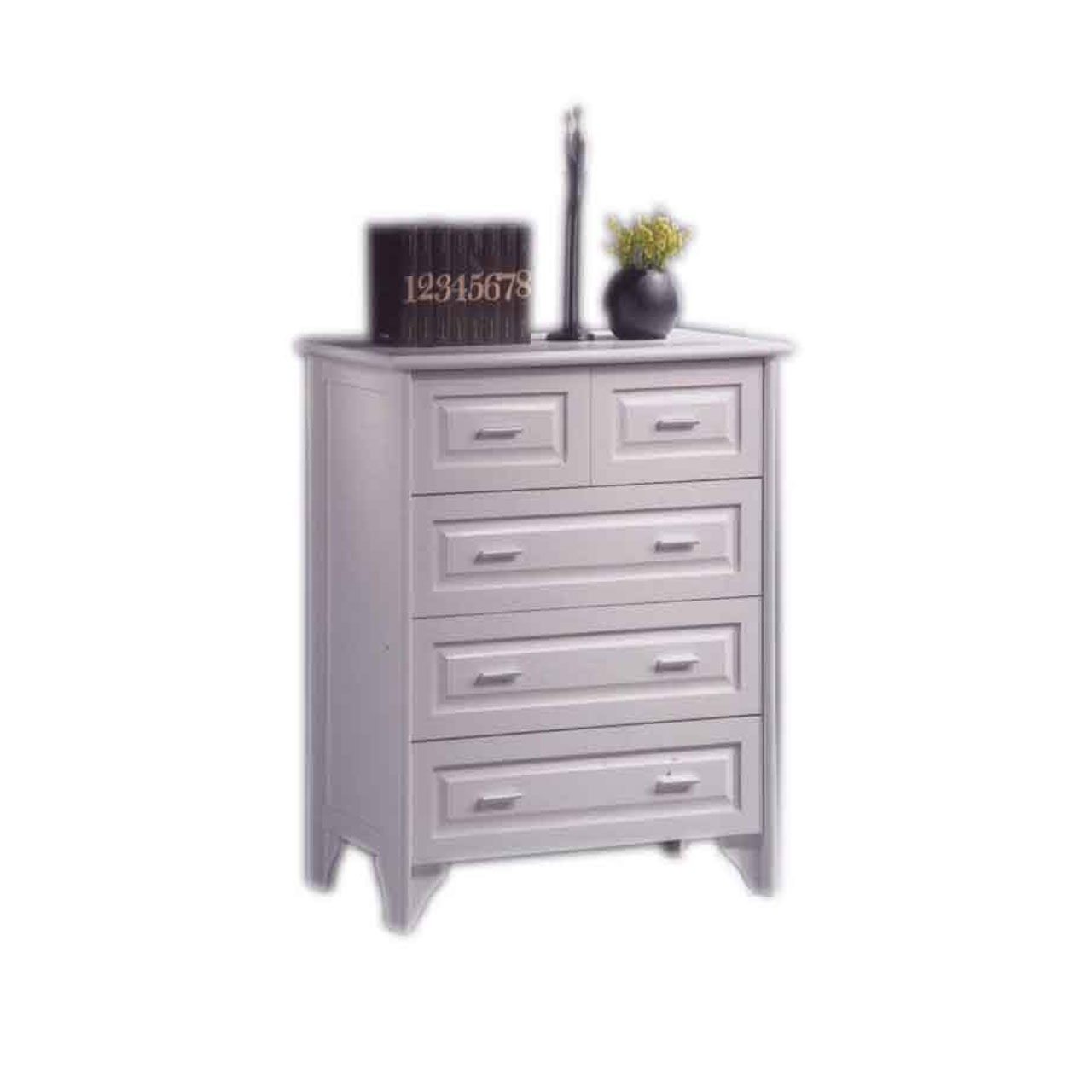 kelsey home snow drawers of white d furniture cor in long chest