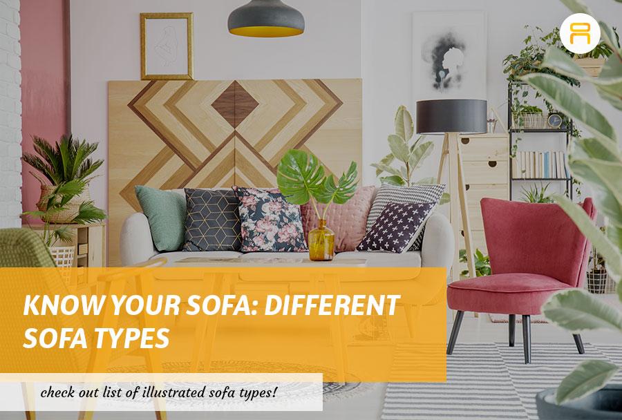 different sofa types