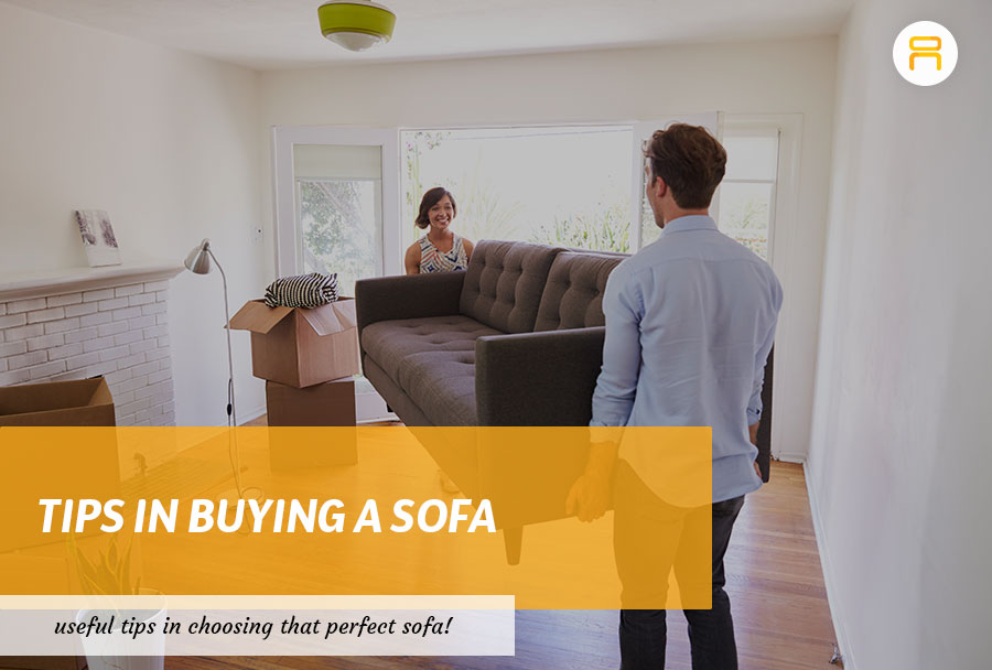 buying a sofa tips