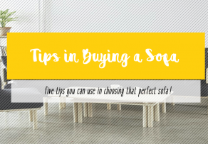 Tips in Buying a Sofa