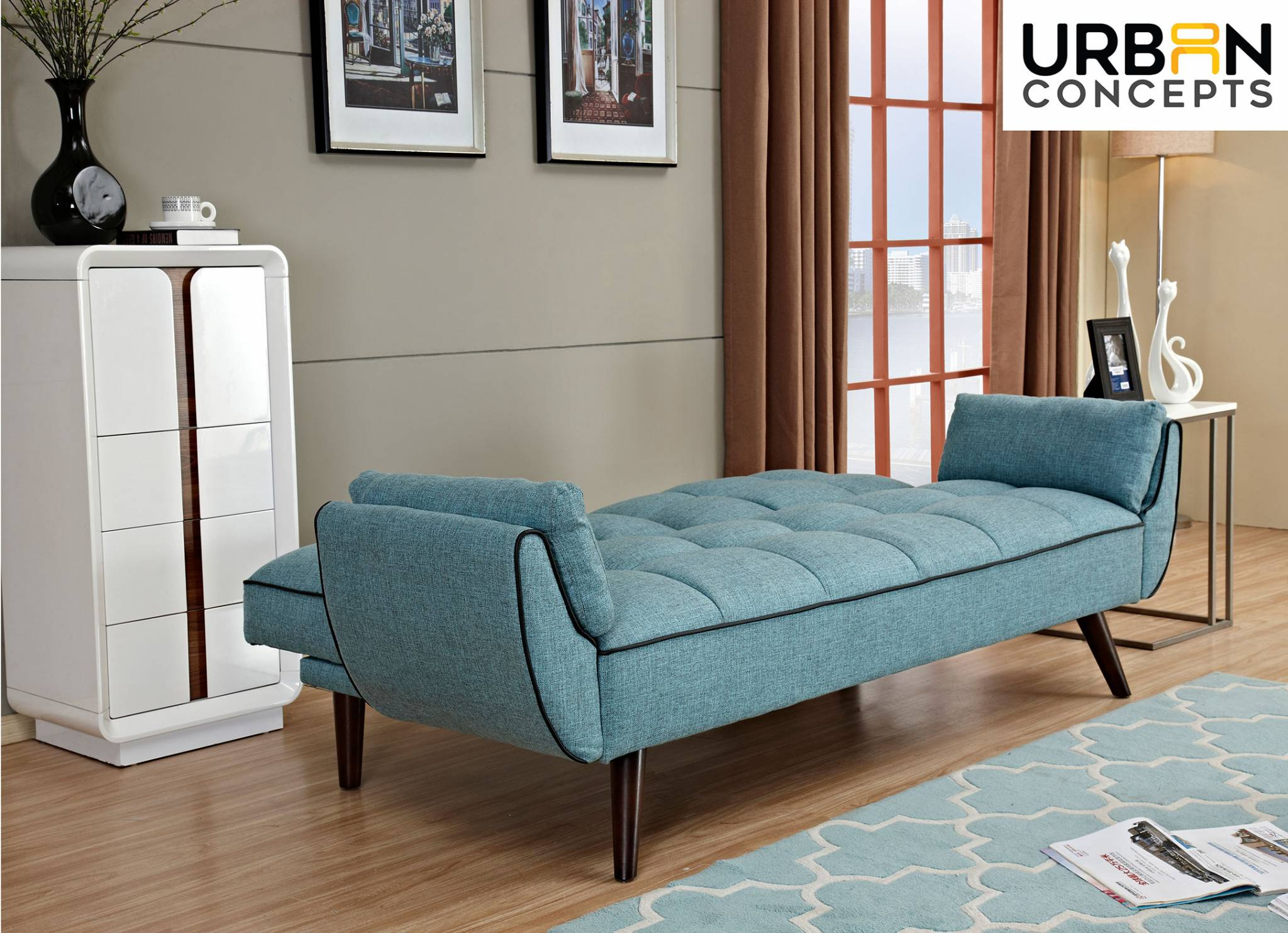 small navy mattress couch comfy meets couchbed view bed products foam to memory blue charcoal front