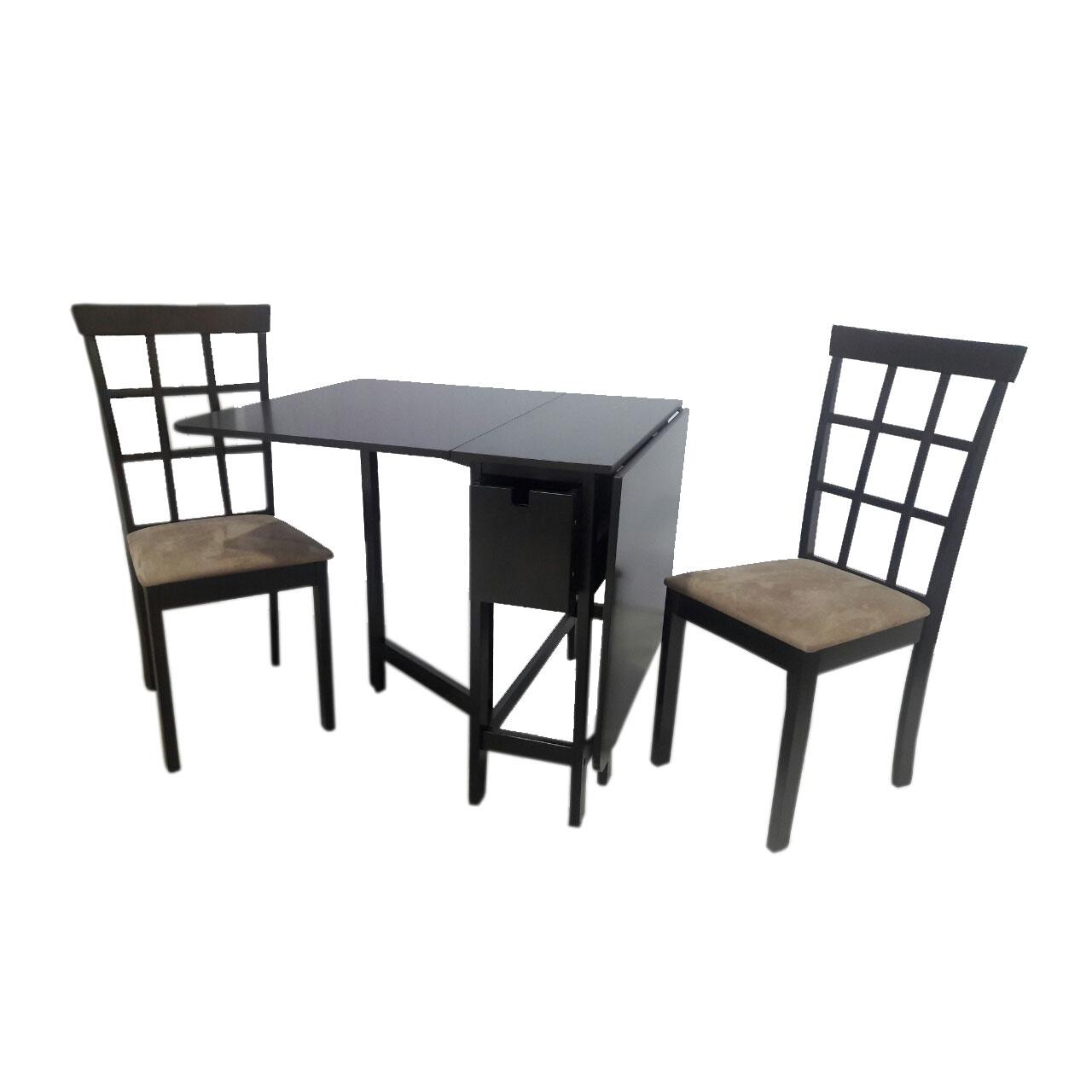 Donna Dining Set Furniture Store Manila Philippines  : MIAMI GATELEG BLACK from www.urbanconcepts.ph size 1280 x 1280 jpeg 77kB