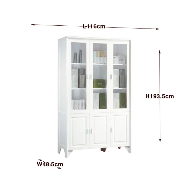 BS620-1 600x600 redman bookcase