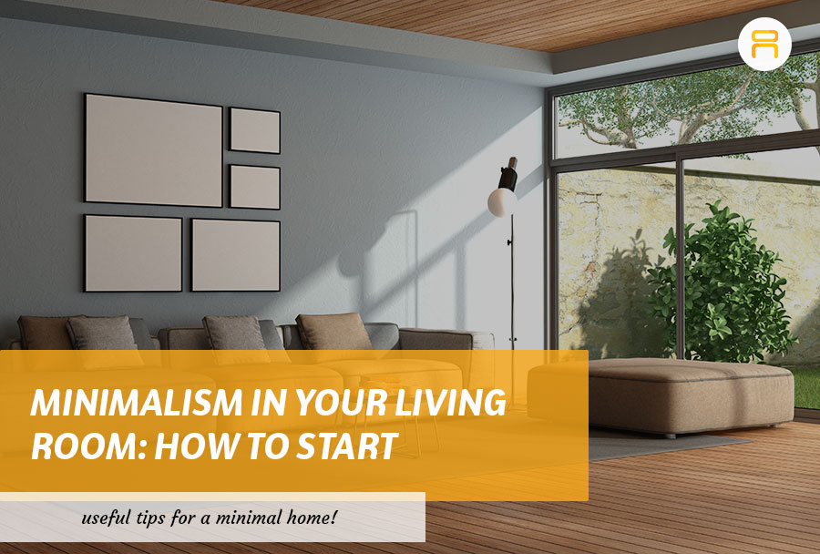 minimalism in your living room