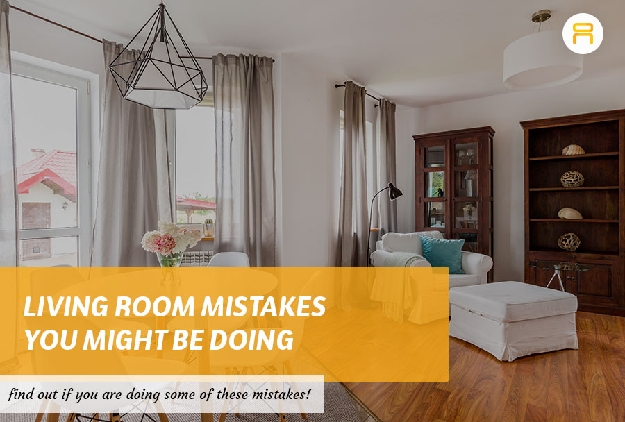 living room mistakes