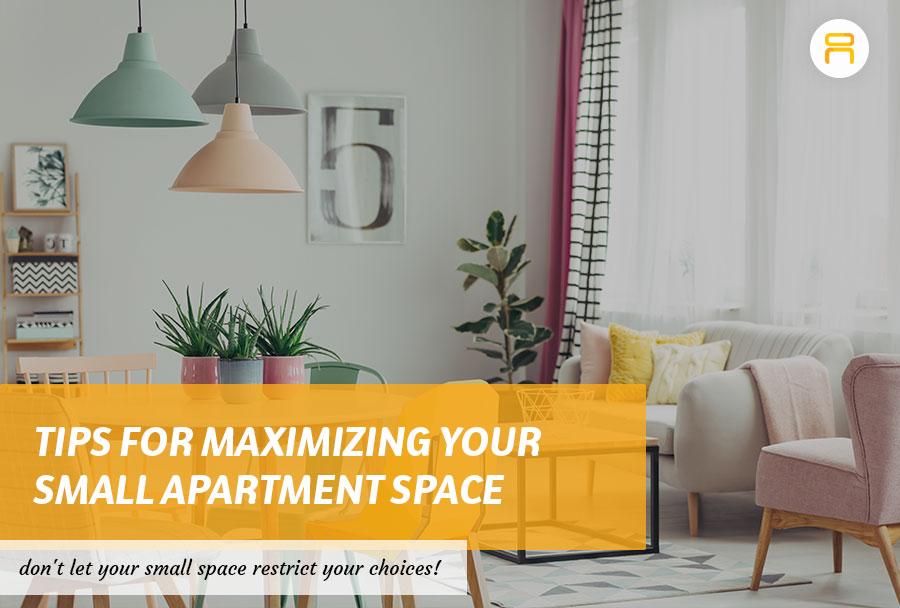 maximizing small apartment