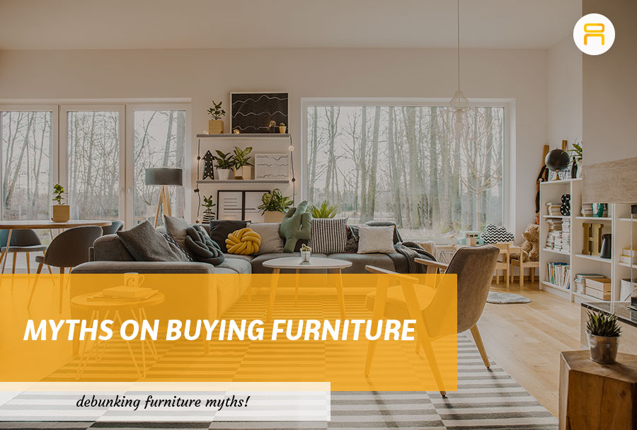 myths on buying furniture