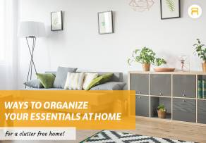 organize essentials at home