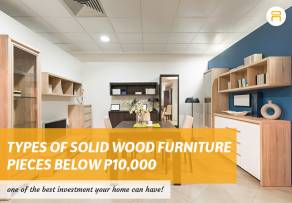 types of solid wood furniture