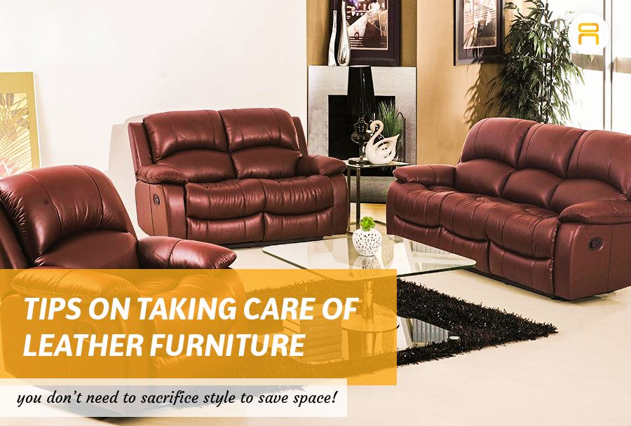 Tips on Taking Care of Leather Furniture