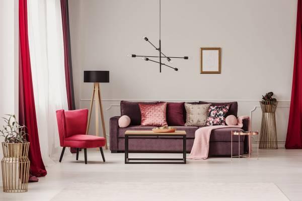 make your living room sapcious