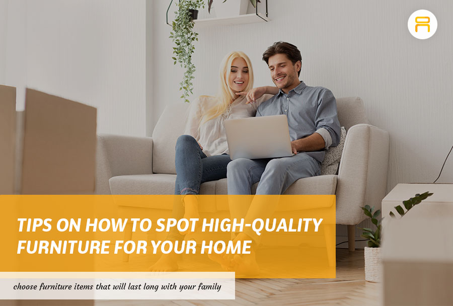 couples buying furniture
