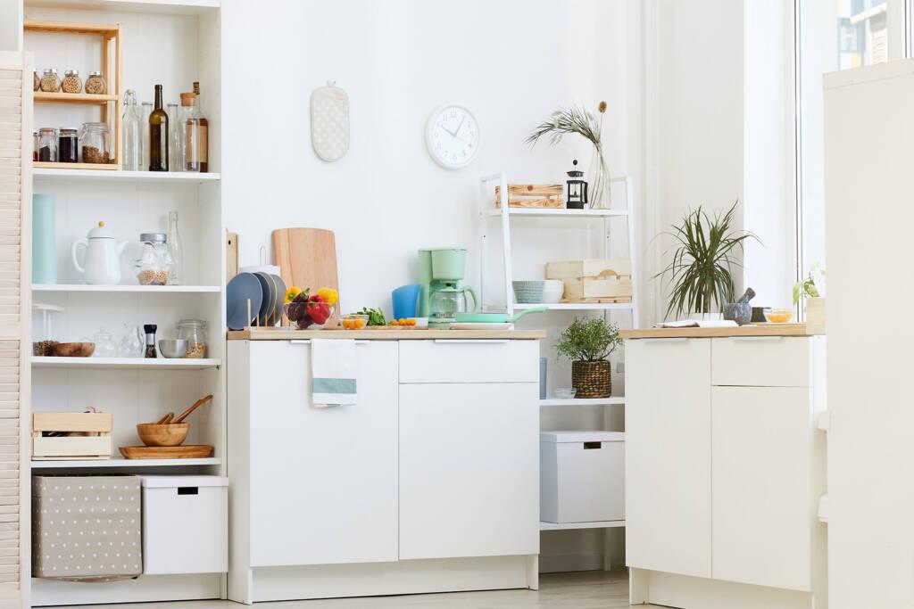 place kitchen essentials properly
