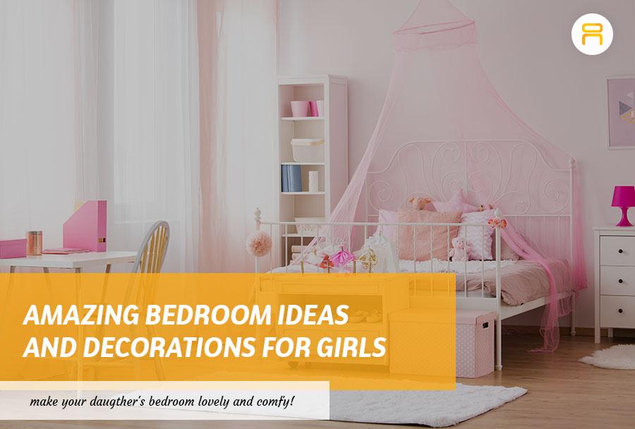 decorate girl's bedroom