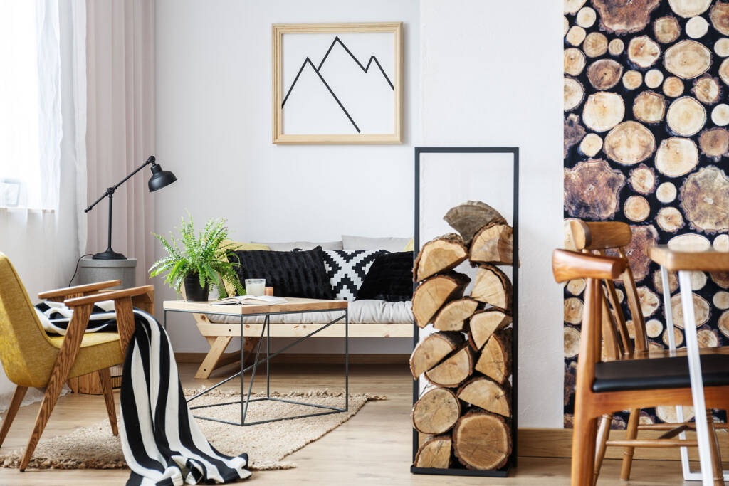 incorporating with tree log