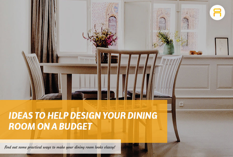 budget friendly dining room design