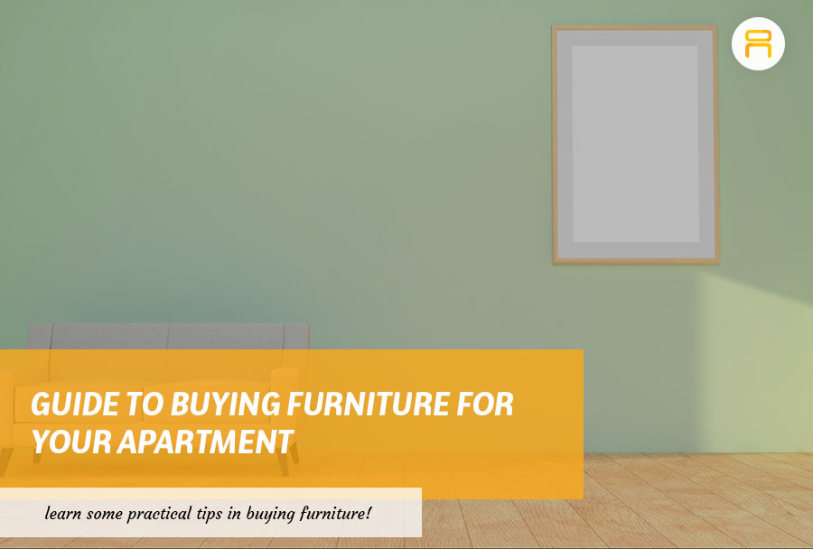 buying furniture for your apartment