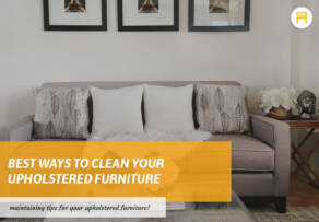 cleaning upholstered furniture
