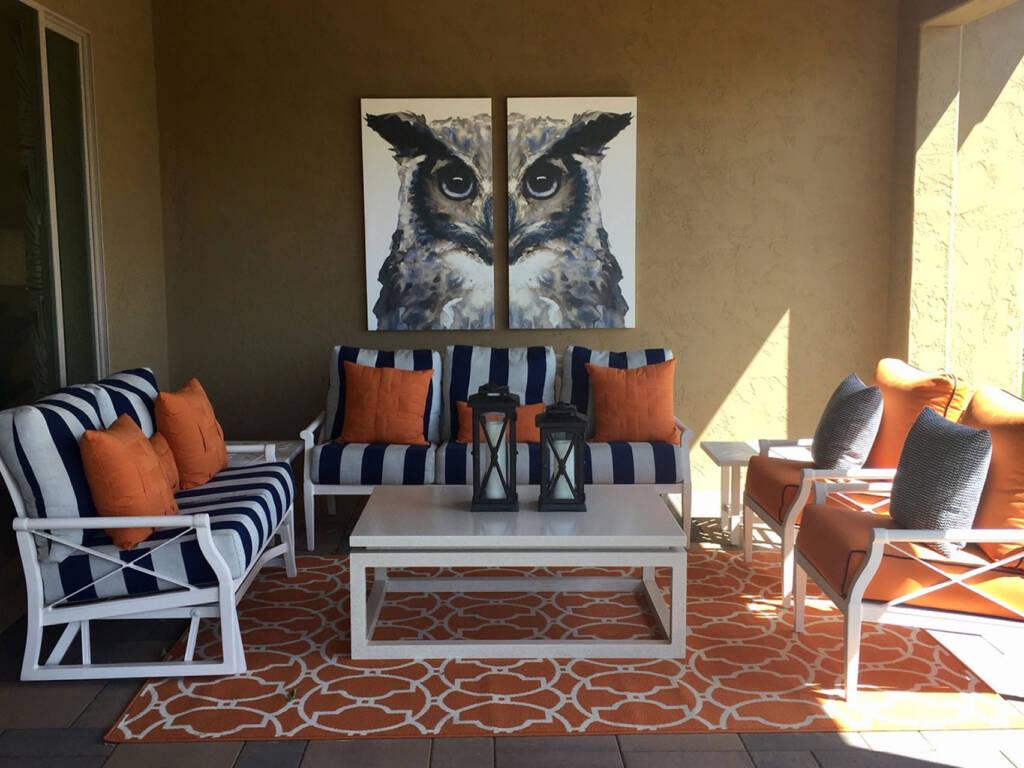accent furniture pattern