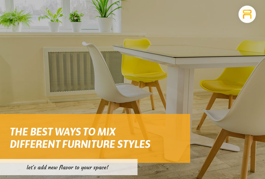 mix furniture styles