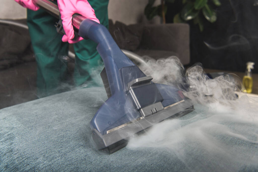 use steam cleaner