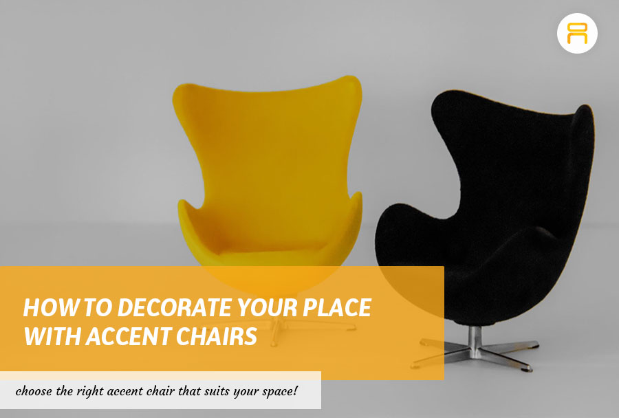 accent chair decoration for space