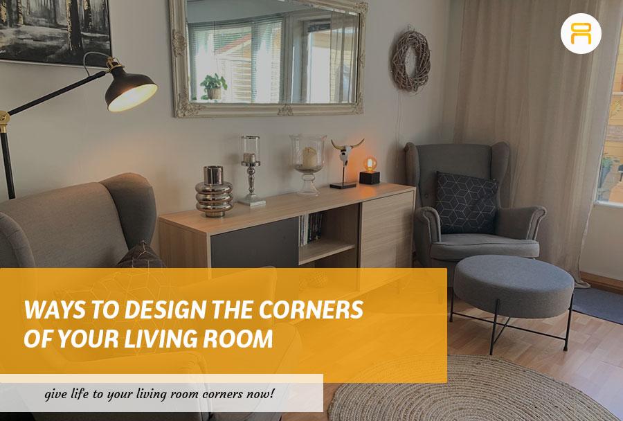 designing living room corners
