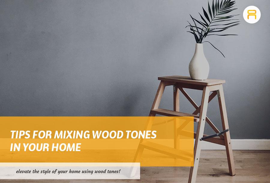 mixing wood tones