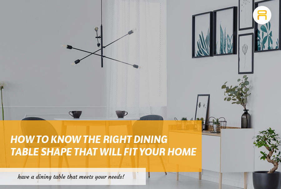 dining table shape